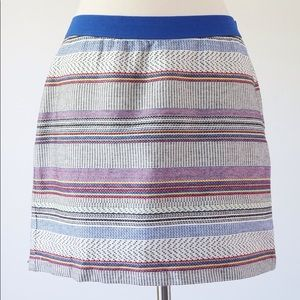 Gap Multicoloured Textured Mini Skirt, size 4